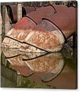 Pumphouse Intake Pipes Canvas Print
