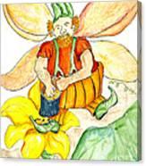 Pumpkin Fairy Canvas Print