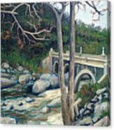 Pumpkin Hollow Bridge Canvas Print