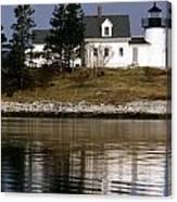 Pumpkin Island Lighthouse Canvas Print