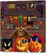 Pumpkin Masquerade Canvas Print