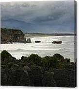Punakaiki Rocks Canvas Print
