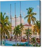 Punta Cana Resort Canvas Print