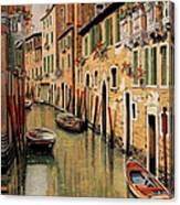 Punte Rosse A Venezia Canvas Print