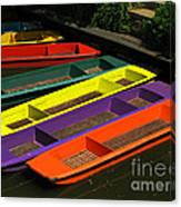 Punts For Hire Canvas Print