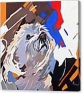 Puppy Design Canvas Print