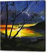 Purdy Sunset Canvas Print