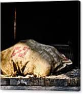 Purina Feed Sack In Loft Canvas Print