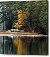 Purity Lake Canvas Print