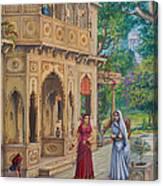 Purnamasi In House Of Kirtida Canvas Print