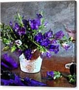 Purple Blues Canvas Print