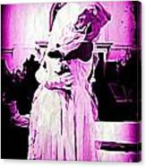 Purple Bride Canvas Print