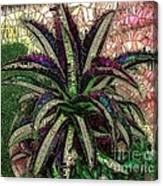 Purple Cactus II Canvas Print
