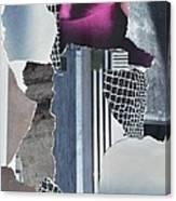 Purple City Canvas Print