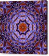 Purple Design 2 Canvas Print