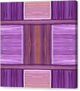 Purple Dreams Squares Canvas Print