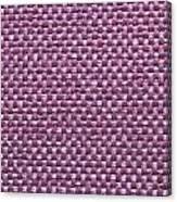 Purple Fabric Canvas Print