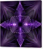 Purple Fingerz Canvas Print