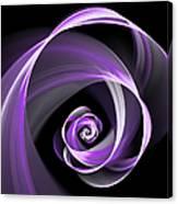 Purple Flirt Canvas Print