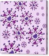 Purple Gems Canvas Print