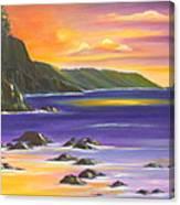 Purple Haze In Hawaii Canvas Print