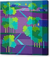Purple Hill Farms Canvas Print
