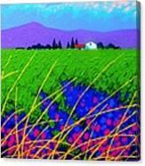 Purple Hills Canvas Print