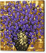 Purple In The Warm Glow Canvas Print