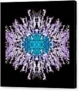 Purple Lace Canvas Print