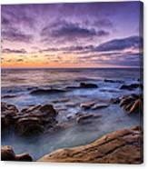 Purple Majesty No Mountain Canvas Print