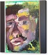 Purple Man Canvas Print