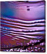 Purple Meterorite Canvas Print