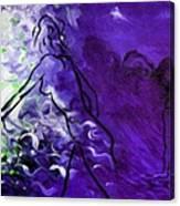 Purple Mood Canvas Print