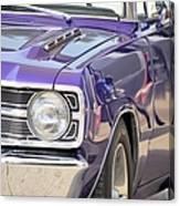 Purple Mopar Canvas Print