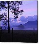 Purple Mountain Majesty Canvas Print
