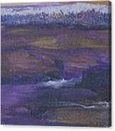 Purple Ocean Canvas Print