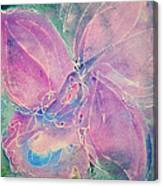 Purple Orchid Canvas Print