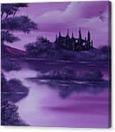 Purple Palace For Sale Canvas Print