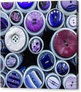 Purple Palate Canvas Print