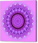 Purple Pink Kaleidoscope Canvas Print