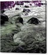 Purple River Canvas Print