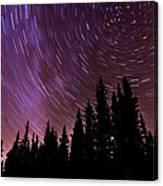 ...purple Sky Canvas Print