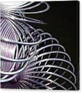 Purple Slinky Canvas Print