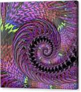 Purple Swirl Canvas Print
