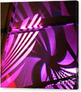 Purple Swirls Canvas Print
