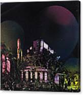 Purple Temple Canvas Print
