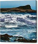 Purple Wave Canvas Print