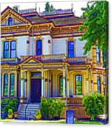 Puyallup Mansion In Washington State Canvas Print