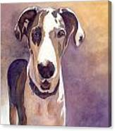 Puzzle The Great Dane Canvas Print