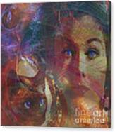 Pyewacket And Gillian - Square Version Canvas Print